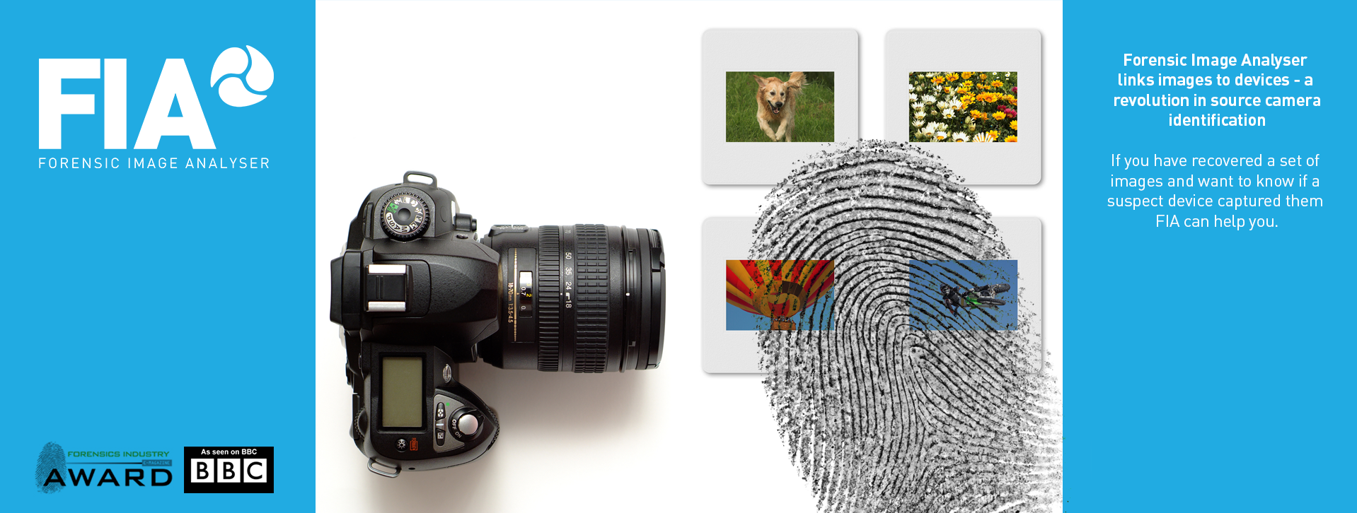 Source Camera Identification Using Forensic Image Analyser